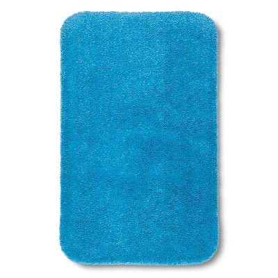 "Room Essentials™ Bath Rug - Dark Sky Blue (20x34"")"