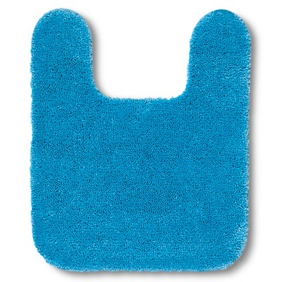 "Room Essentials™ Contour Bath Rug - Dark Sky Blue (20x24"")"