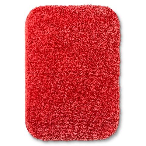 Room Essentials Bath Mat Ripe Red 17x24 Target
