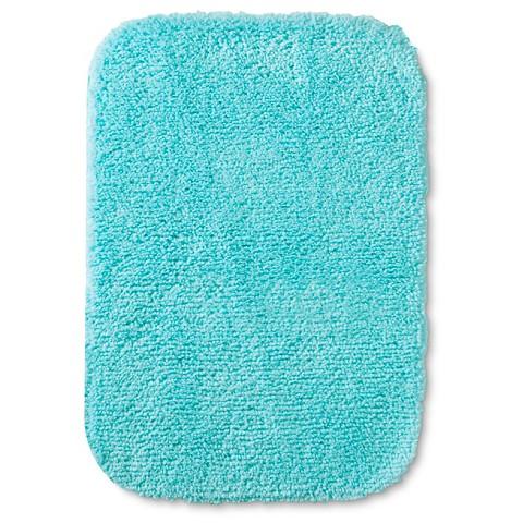 Room Essentials Bath Mat Sunbleached Turquoise 17x24