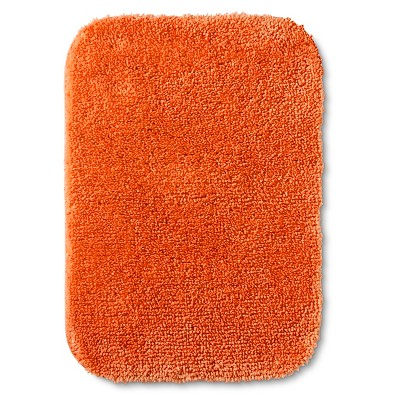 "Room Essentials™ Bath Mat - Super Orange (17x24"")"