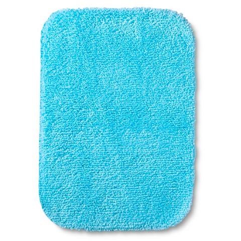 Room Essentials Bath Mat Aqua Breeze 17x24 Target