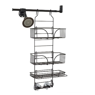 Zenna Home Make-A-Space Rust-Resistant Wire Caddy - Oil Rubbed Bronze