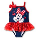 Disney&#174 Toddler Girls' Minnie Mouse Tutu One Piece Swimsuit