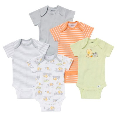 Gerber® Newborn 5 Pack Duck Onesie® Set 0-3 M