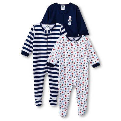 Gerber® Newborn Boys' 3 Pack Sports Onesie® 3-6 M