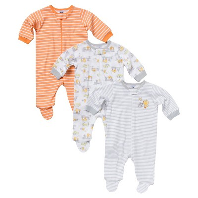 Gerber® Newborn 3 Pack Duck Sleep N' Play 0-3 M