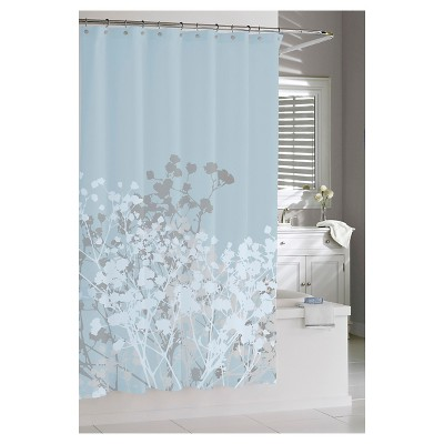 Kassatex Willow Shower Curtain - Spa Blue