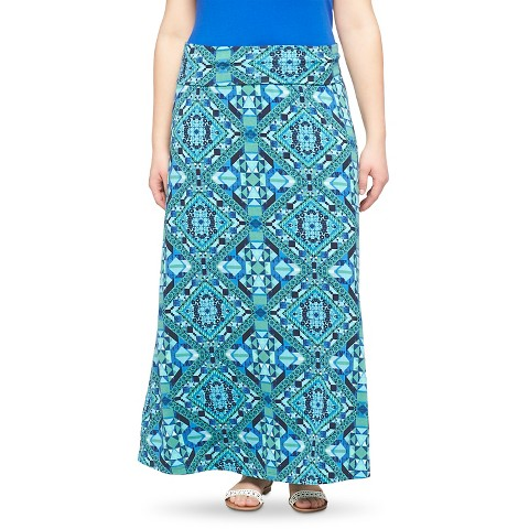 plus size knit maxi skirt mossimo supply co
