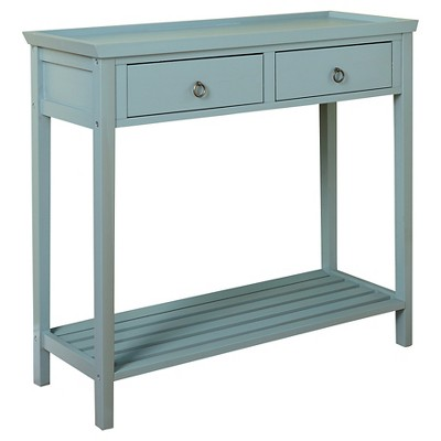 Abney Console Table Blue - TMS