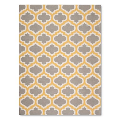 threshold indoor outdoor flatweave fretwork rug ebay