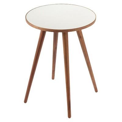 Sputnik Side Table White/Walnut - Control Brand