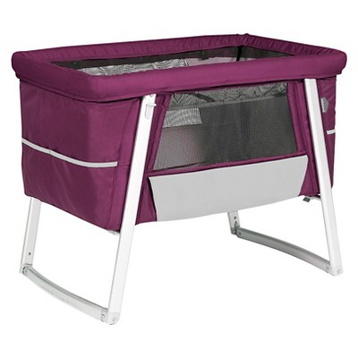 Babyhome Air Baby Cot - Purple