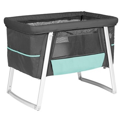 Babyhome Air Baby Cot - Graphite
