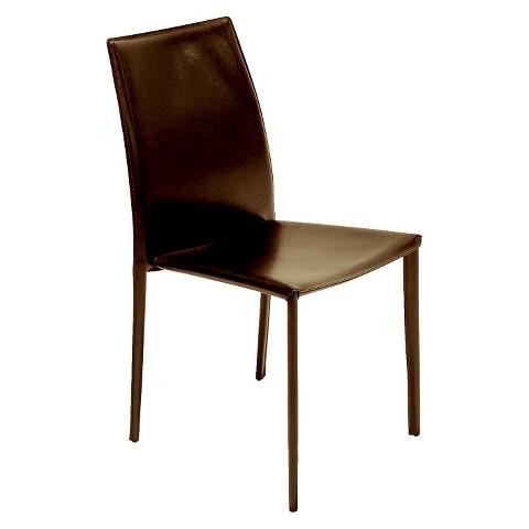 AEON Tamara Leather Dining Chair Set Of 4 Target