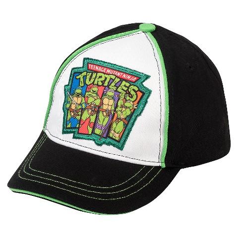 toddler boys tmnt baseball hat black