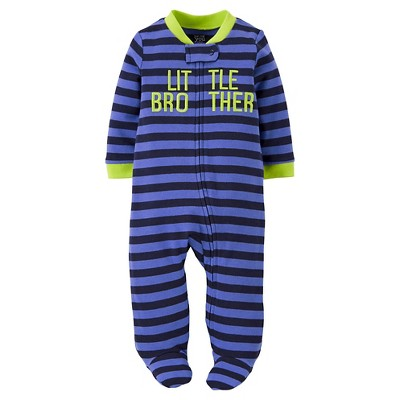Just One You™Made by Carter's® Newborn Boys' Little Brother Sleep N' Play - Magic Blue 3 M