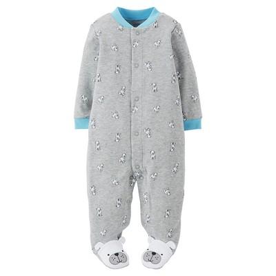 Just One You™Made by Carter's® Newborn Boys' Puppy Sleep N' Play - Grey NB