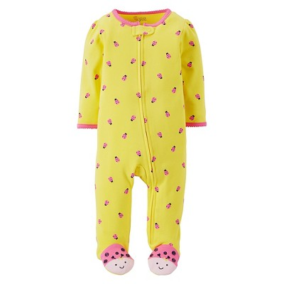 Just One You™Made by Carter's® Newborn Girls' Ladybug Sleep N' Play - Yellow NB