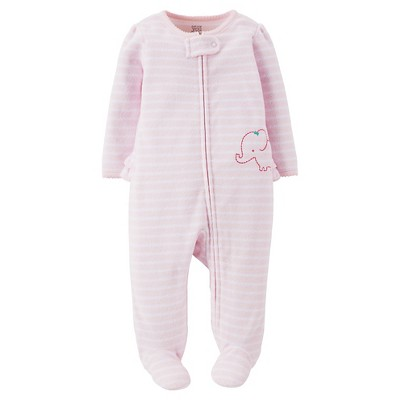 Just One You™Made by Carter's® Newborn Girls' Elephant Sleep N' Play - Pink 3 M