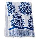 Bath Towel Blue Paisley - Threshold™