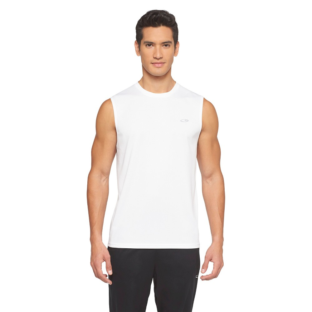 1957f6279b52 UPC 490410220547 product image for C9 Champion Men's Tech Muscle Tee - True  White XL