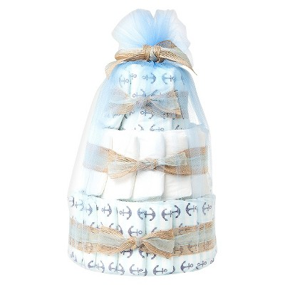 Honest Company Mini Diaper Cake - Boy