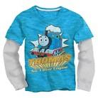 Thomas the Tank Engine Infant Toddler Boys' Twofer Tee - Blue