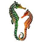3DWall Art Sea Horse Set of 2