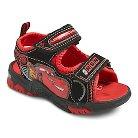 Disney Cars Toddler Boy's Light Up Hiking Sandals - Black