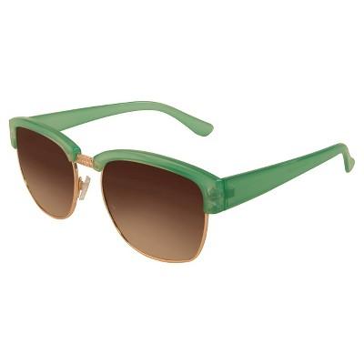 Women's Clubmaster Sunglasses - Green