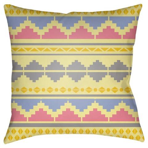 Target Southwestern Pillows : Southwestern Chevron Toss Pillow : Target