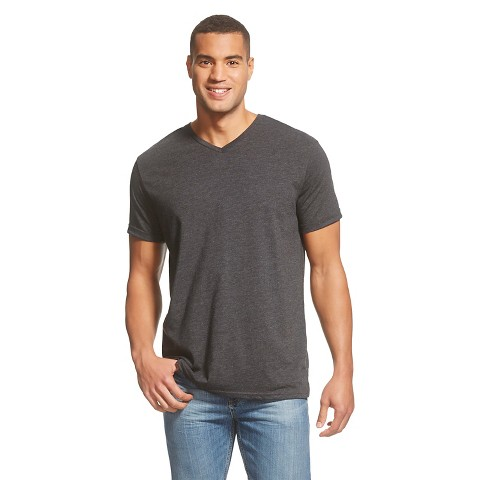 Men 39 s big tall v neck t shirt mossimo supply target for Mens tall v neck t shirts