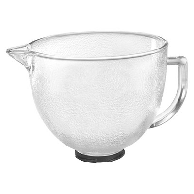 KitchenAid® 5-Qt. Tilt-Head Hammered Glass Bowl with Lid- K5GBH