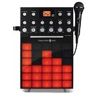 Singing Machine SML388W Karaoke System with Synchorizing Light Show and Microphone