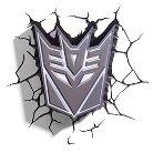 Transformers 3D Wall Nightlight - Decepticon