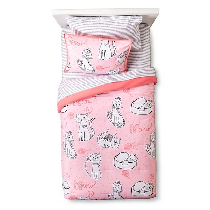 Circo Meow Comforter Set - Multicolor (Full)