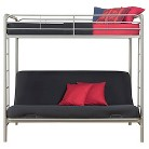 Bunk Bed - Silver(Twin/Futon)