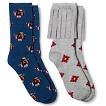 Women's Fashion Socks 2pk Grey/Navy - Xhilaration®