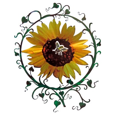 3D Wall Art Sunflower