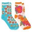 Women's Fashion Socks 2pk Multi Colored - Xhilaration®