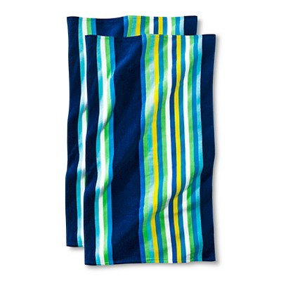 Cool Stripe Beach Towel - 2-pk.