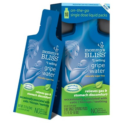 Mommy's Bliss Gripe Water Single Dose - 5ml single doses (10 Count)