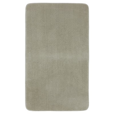 "Mohawk Home Velveteen Memory Foam Bath Mat - Brown Linen (20x34"")"