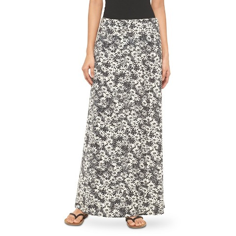 printed knit maxi skirt mossimo supply co target