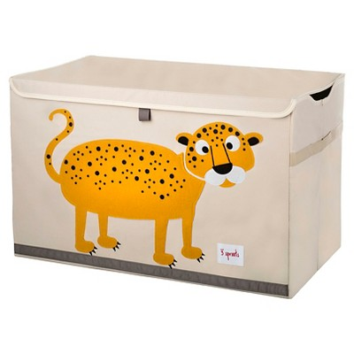 3 Sprouts Collapsible Storage Toy Chest - Leopard