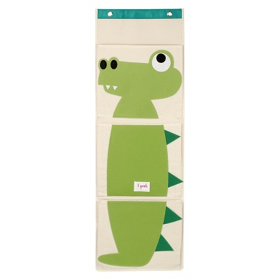 3 Sprouts Hanging Storage Organizer - Crocodile