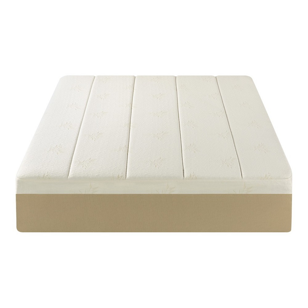 Sleep Revolution 14 inch Memory Foam Mattress (King), Ivory