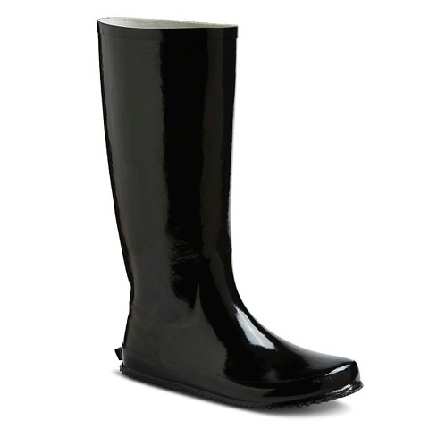 Awesome Women39s Novel Dot Rain Boots  Target