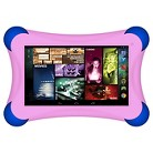 """Prestige EliteFam 7"""" Quad Core Tablet with Safety Bumper and HD Screen - Assorted Colors"""